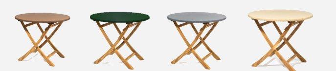 abdeckhauben f r fahrzeuge gartenm bel und industrie teak safe tischplattenhauben mit. Black Bedroom Furniture Sets. Home Design Ideas