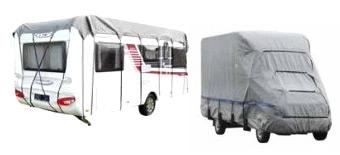 Hauben für Wohnwagen Reisemobile Dachschutz
